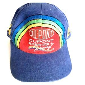 NASCAR Jeff Gordon 24 Racing Hat DuPont Rainbow
